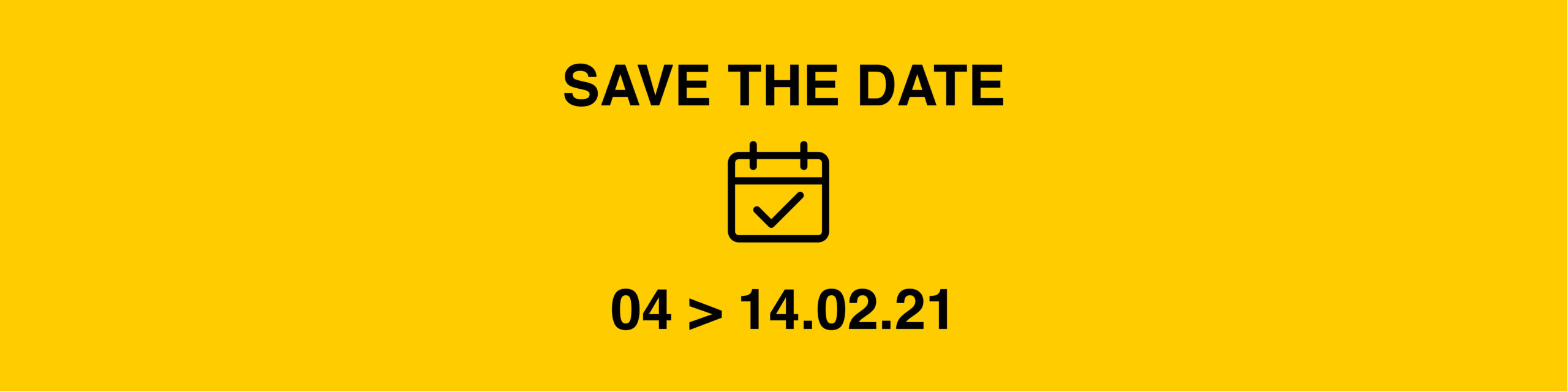 News Site Save The Date